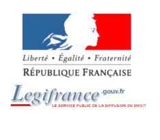Logo de LegiFrance le service public de la diffusion du droit