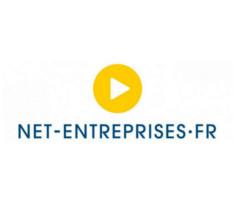 Logo de Net-Entreprises, GIP Modernisation des déclarations sociales
